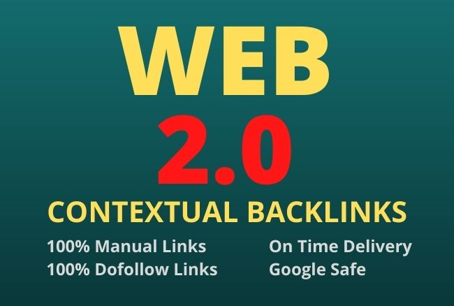I will create manualy 100+ super web 2 0 contextual seo backlinks