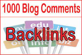 I will manually build 1000 Blog comments on 50+ DA DR site to boost your ranking