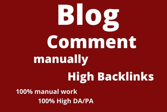 I will provide 50 Blog Comments Backlinks from high quality Blogs