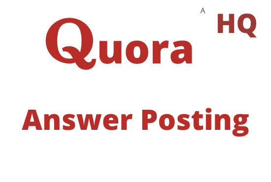 I will provide 5 HQ Quora Answer With Your Keyword & URL