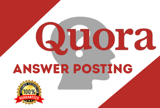 promote your website 10 high-quality quora answer with your keyword and URL