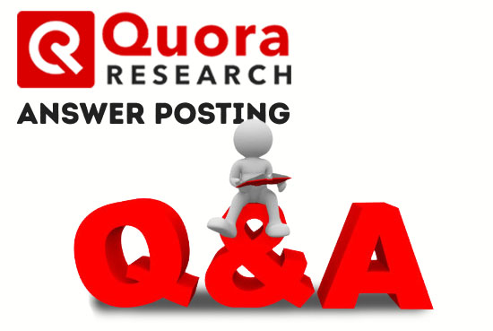 I Will Provide 4 HQ Quora Answer And Guaranteed Traffic To Promote Your Website