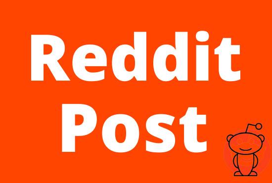 Write And Publish 15 Guest Post On Reddit,  HQ Blog DA92