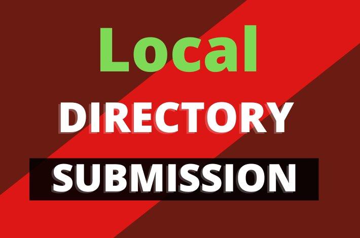 I will do 100 directory submission SEO backlinks, manually