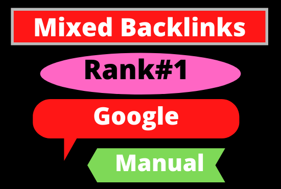 I will do 100 Mixed Backlinks High Authority Permanent DoFollow link building boost your website