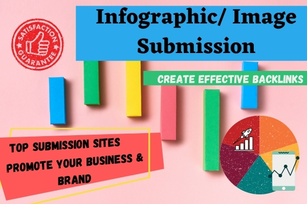 I will submit infographic on 20 high authority image sharing sites