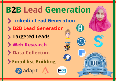 I will do B2B top target leads