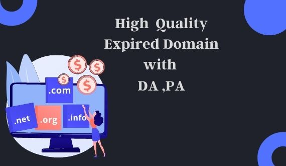 I will provide you 3 expired domain with high da / pa