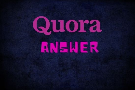 3 high quality quora answer with your website URL
