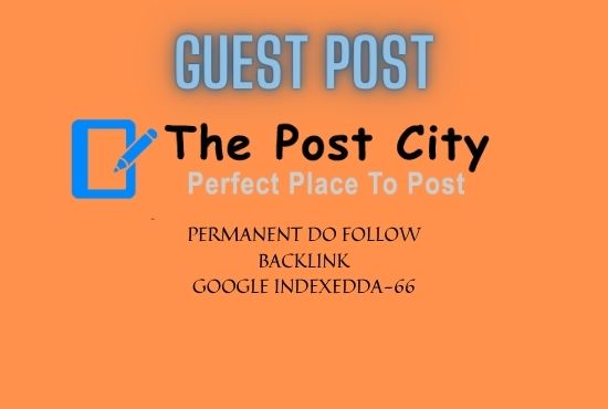2 guest post with Do follow Backlink