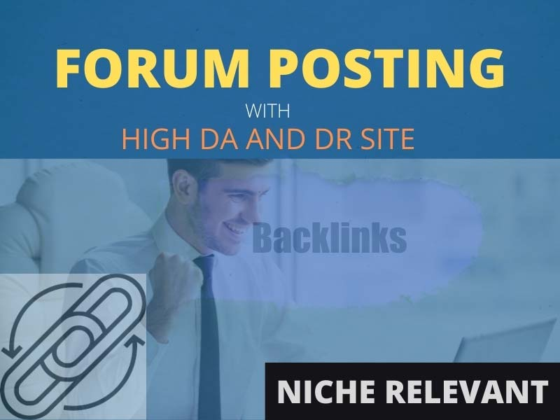 Manually create 100 High DA Do follow Forum posting to rank your site in any search engine