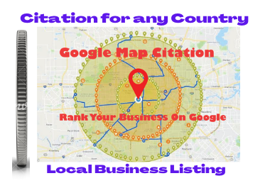 300 Google map citations for local seo local citations promote your business or website