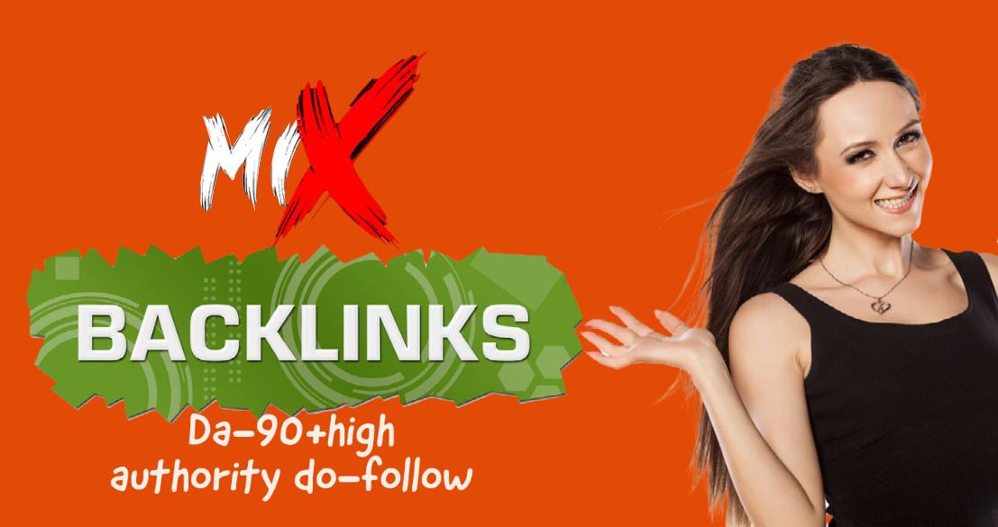 I will create 500 mix high authority do-follow quality SEO Backlinks