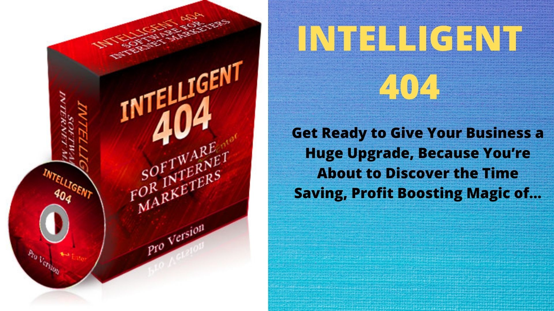 Intelligent 404 Software for Internet Marketers