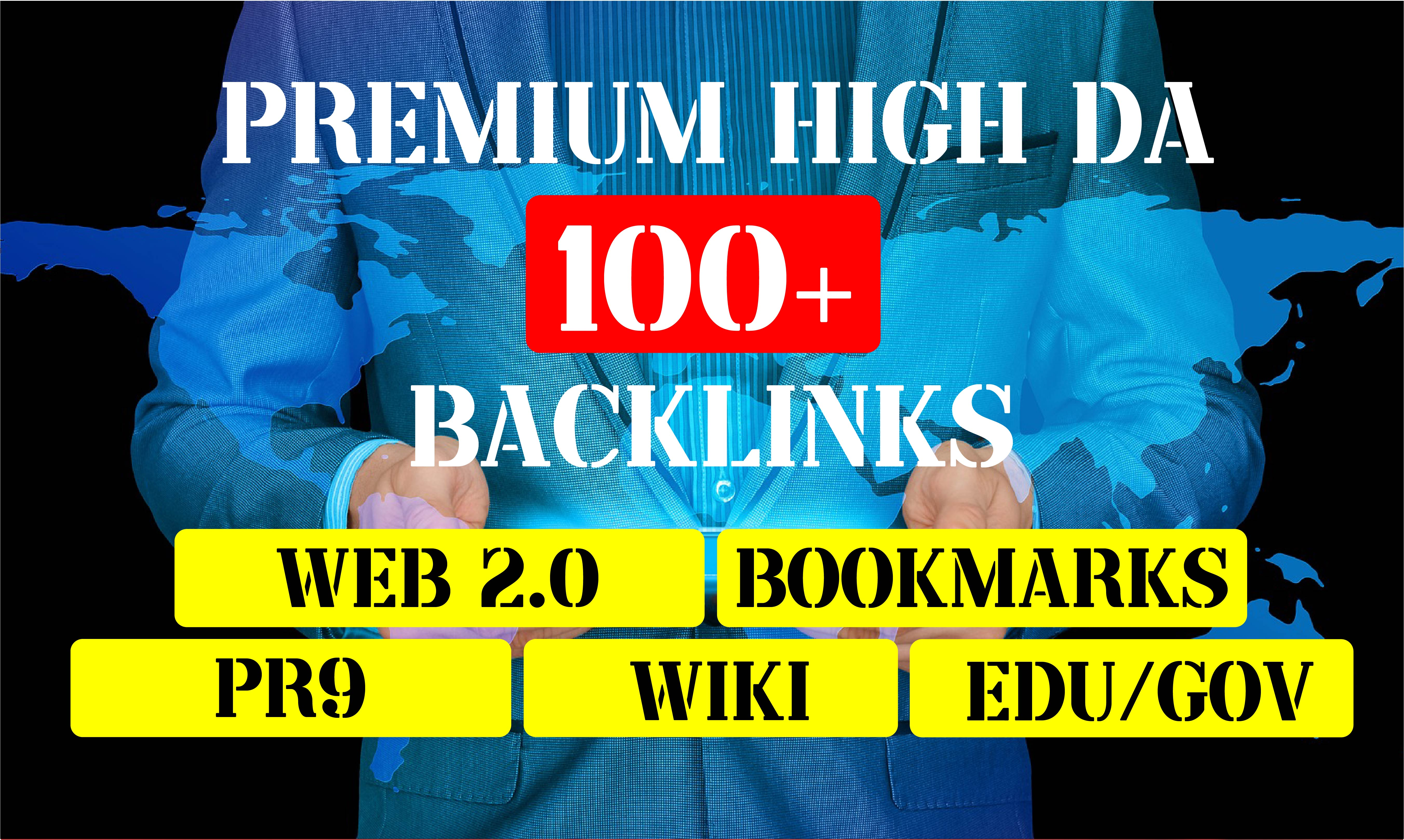 100+ High Domain Authority HQ Links to RANK your website by boosting your web authority