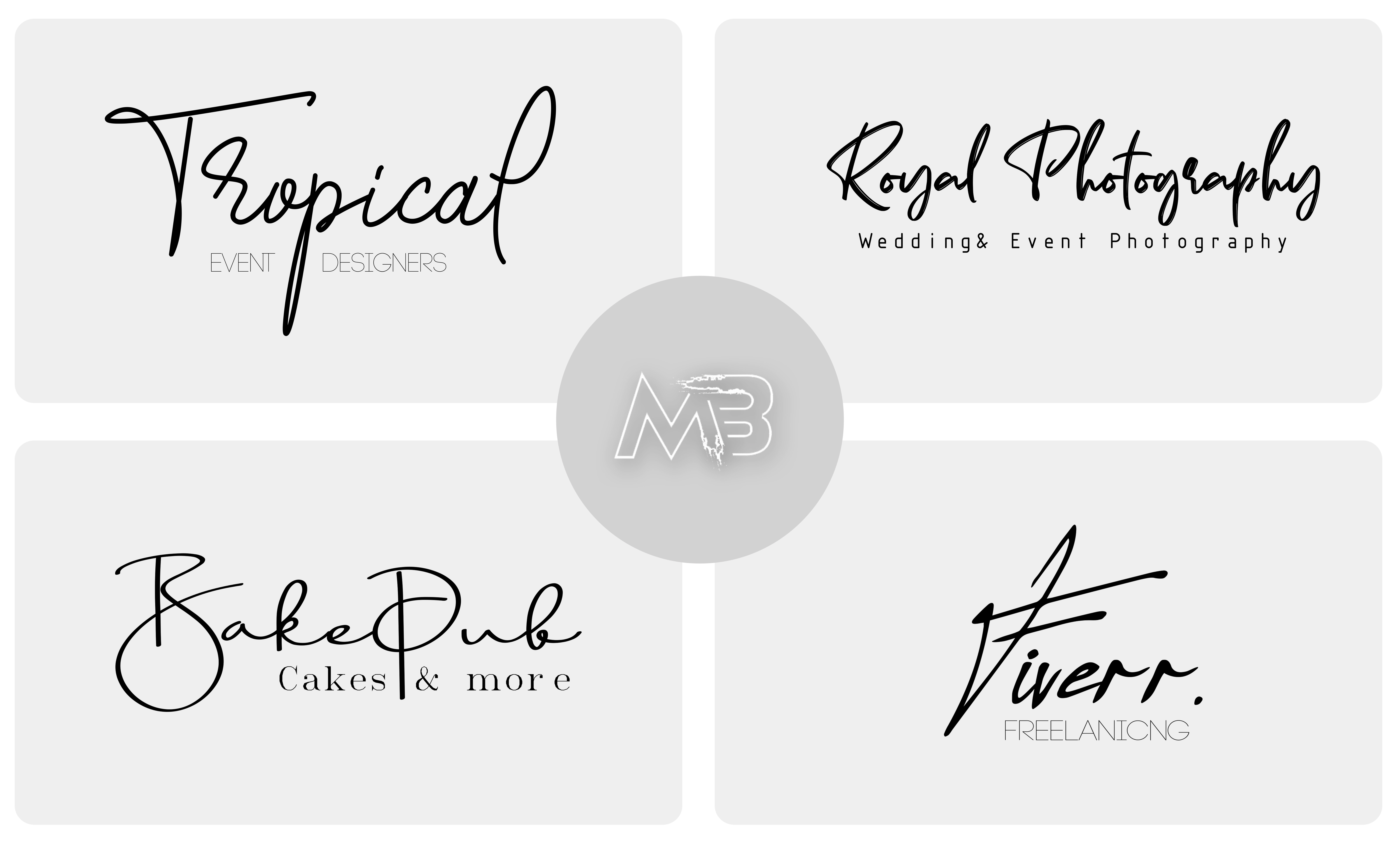 I will design handwriting,  cursive,  signature,  handwritten logo