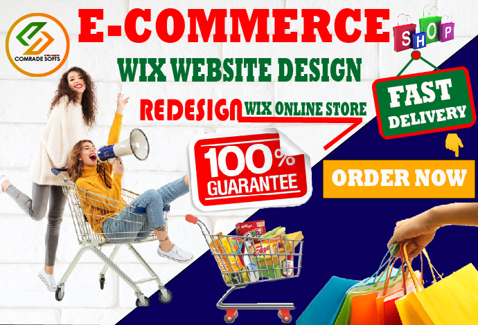 We will design wix ecommerce store or redesign wix online store