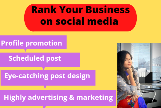 I will rank your business fast & promote your products