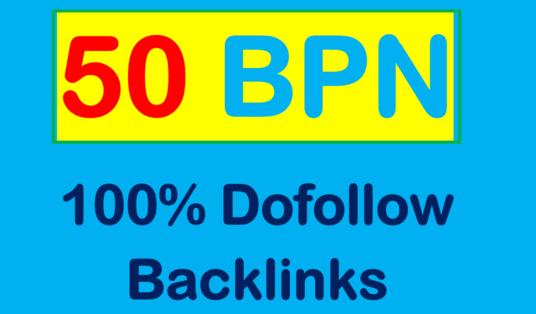 I will create 50 homepage pbn DA 25 Backlinks
