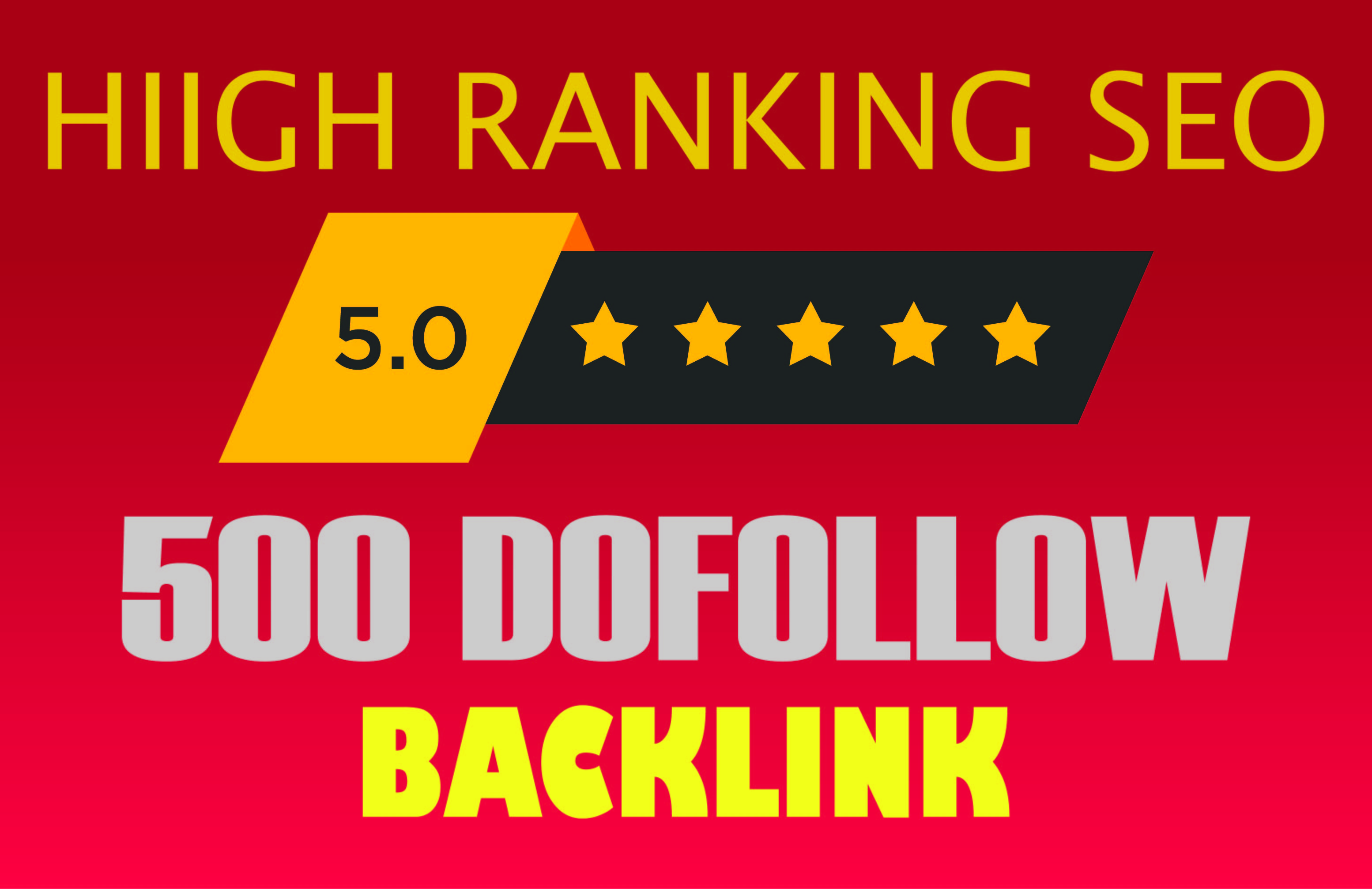 I will do 500 dofollow blog comment with high backlinks