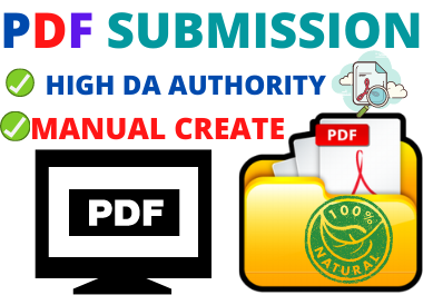 TOP 20 PDF Submission service manually for do-follow backlinks