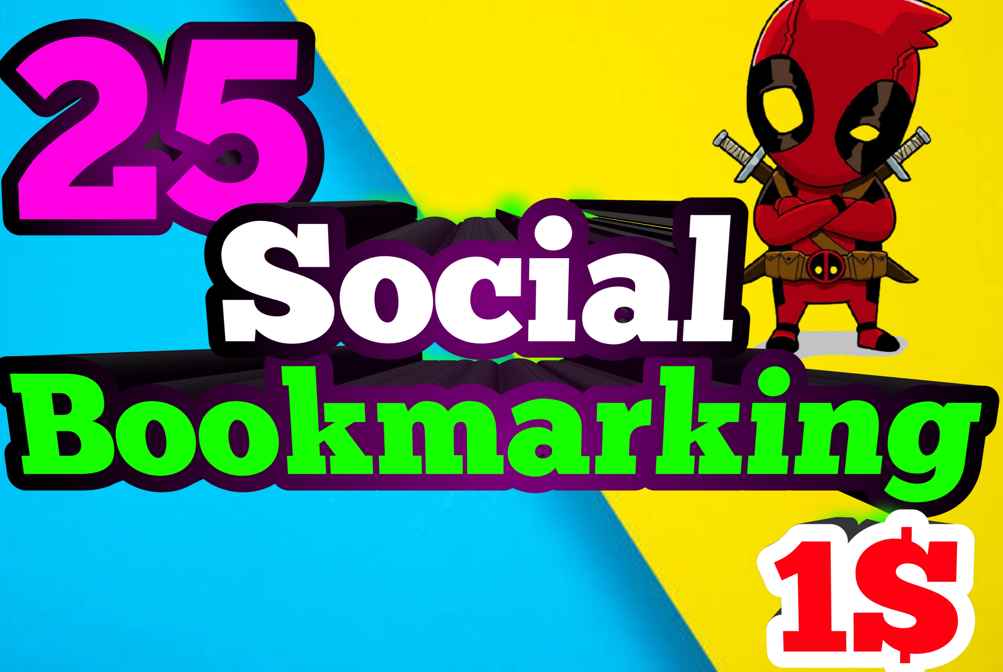 I do Manually 25 High Authority Social Bookmark Backlinks