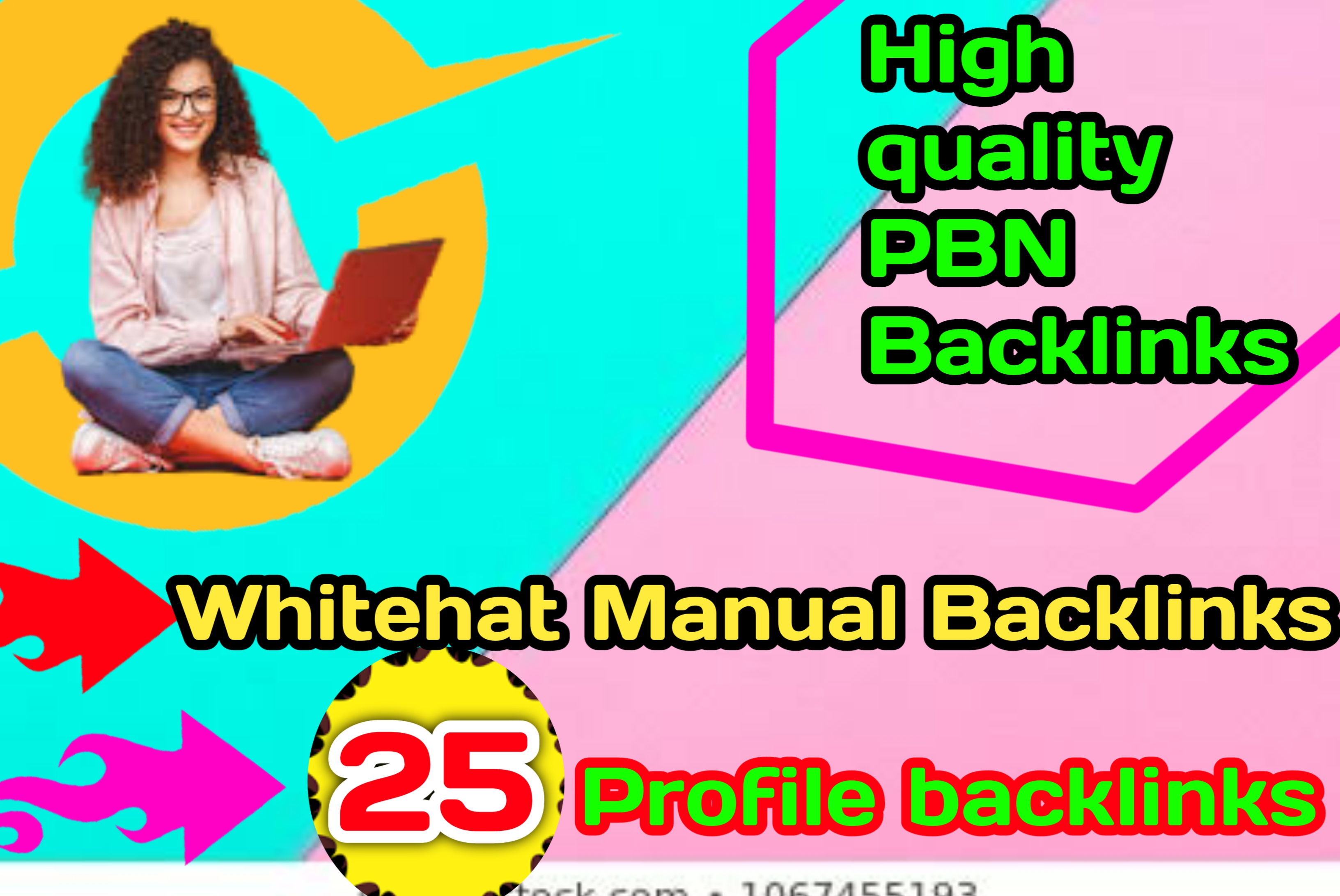 25 Profile Backlinks high authority website for permanent