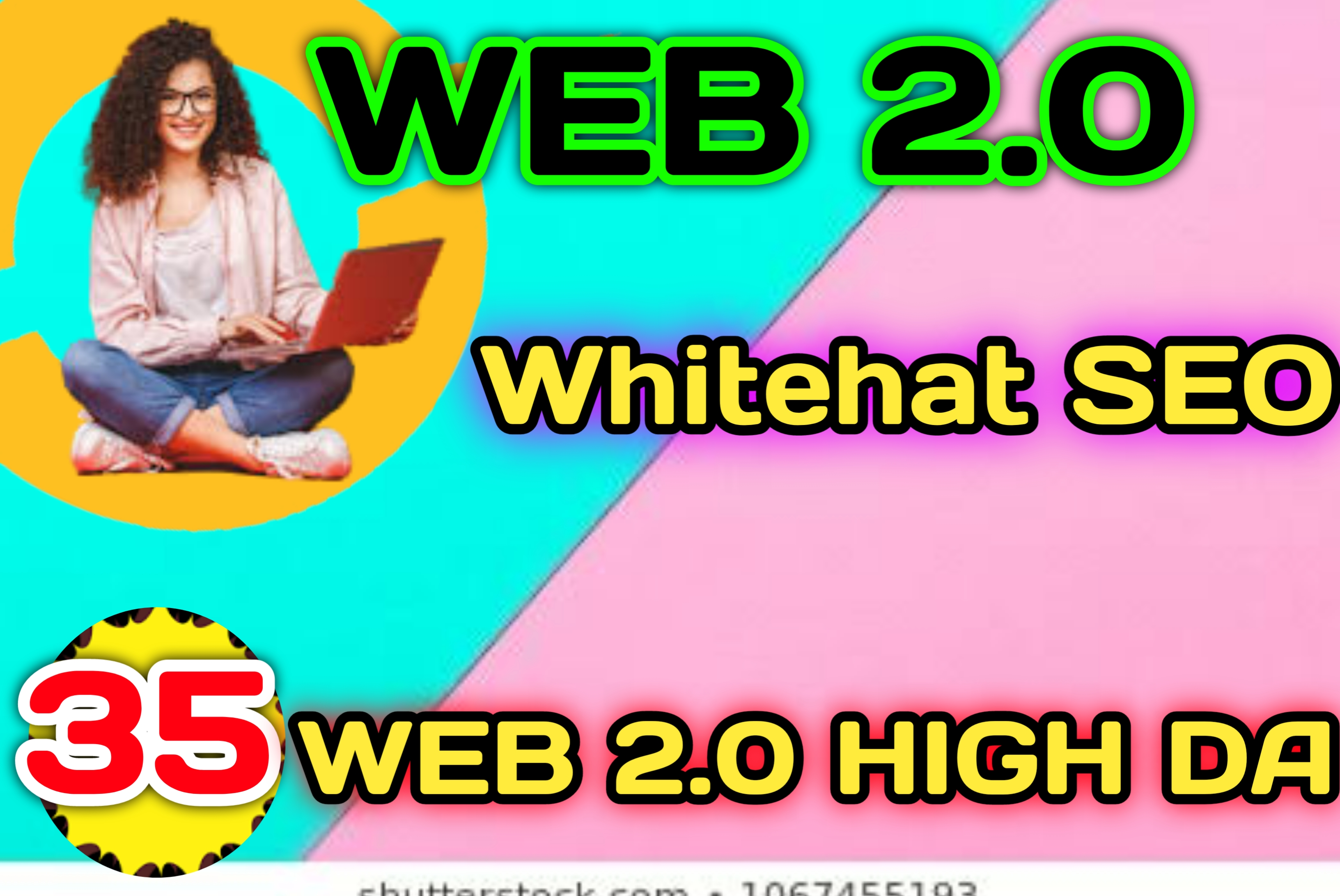 I do 30 Web2.0 High DA Do-follow Backlinks permanent link building