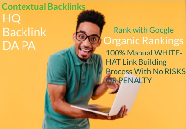 Create 200 Contextual banklink Advanced Ranking your site