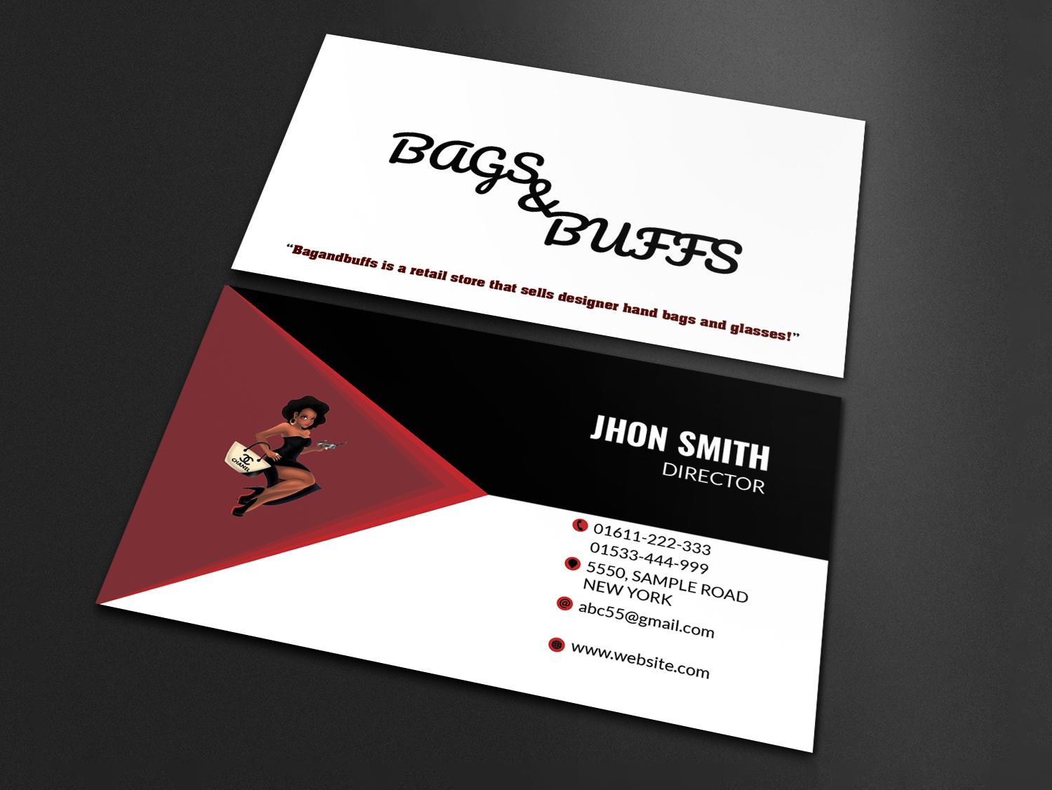 I will do corporate Business Card design for you in 6 hours