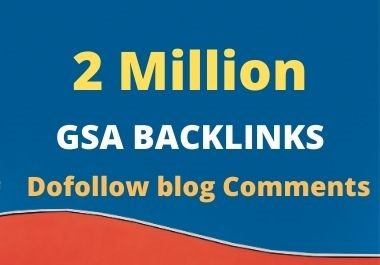 I will provide 2 million high quality dofollow blog comments SEO backlinks