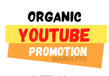 Get YouTube Organic Promotion and Marketing with SEO