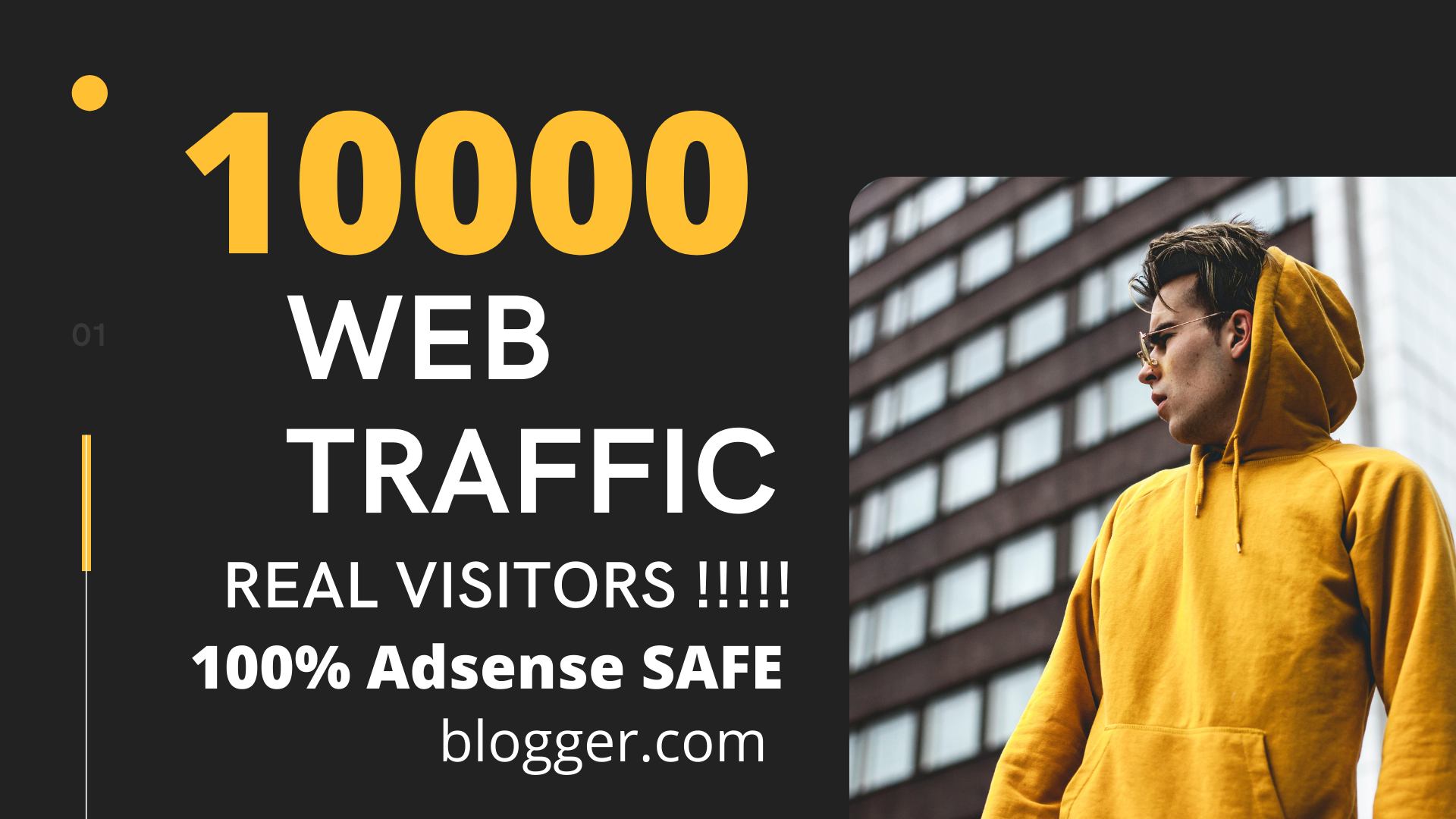 Are you looking for real visitors to your website So YOU ARE IN THE RIGHT PLACE