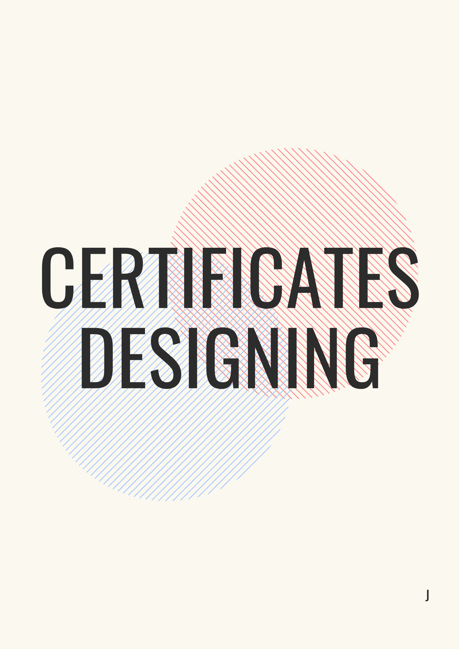 Quality certificates design in just 1 day