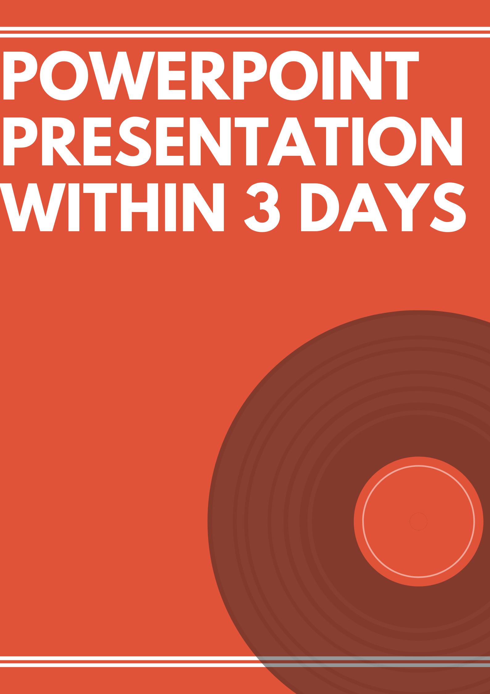 I will design quality powerpoint presentation slides