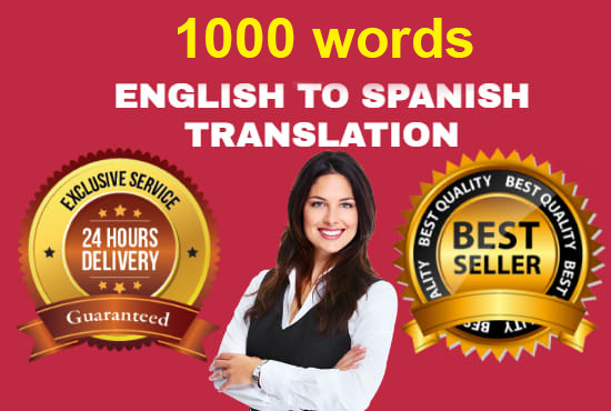 I will do a spanish translation from english to spanish