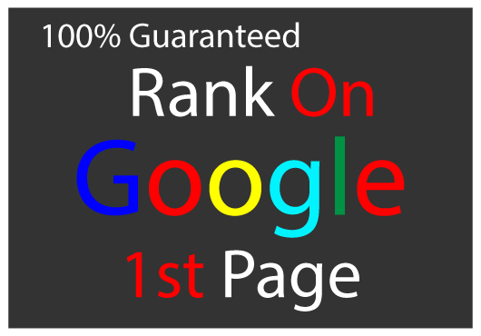 I will do guaranteed ranking your website on Google 1st page