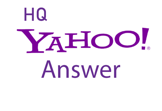 I will Promote your website in 10 Yahoo Answers with Clickable link