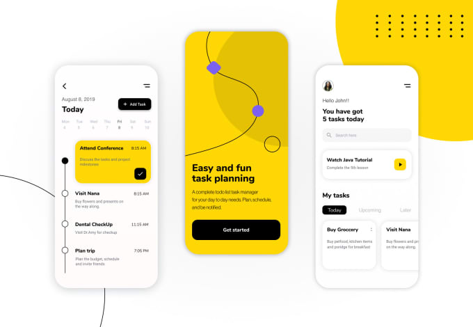 I will design ui ux and prototyping web or mobile app