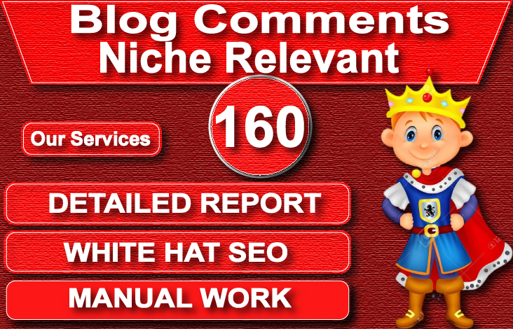I will give you 160 low OBL niche relevant blog comment backlinks