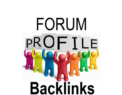 Create 150 High DA Dofollow Forum Profile,  White Hat SEO Backlinks.