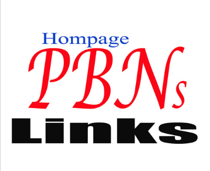 Build 100 High Pa Da Tf Cf Pbn Backlinks,  Homepage Quality Links