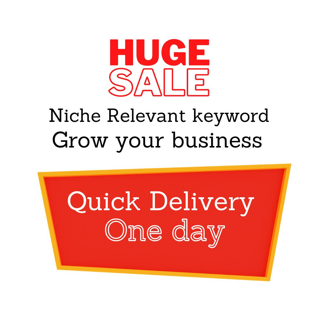 Niche Relevant Keyword Service