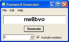 password generator software to keep your password secret and confidential