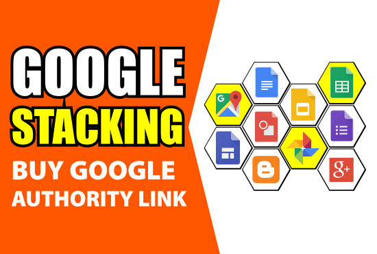 I will create google advanced SEO stacking