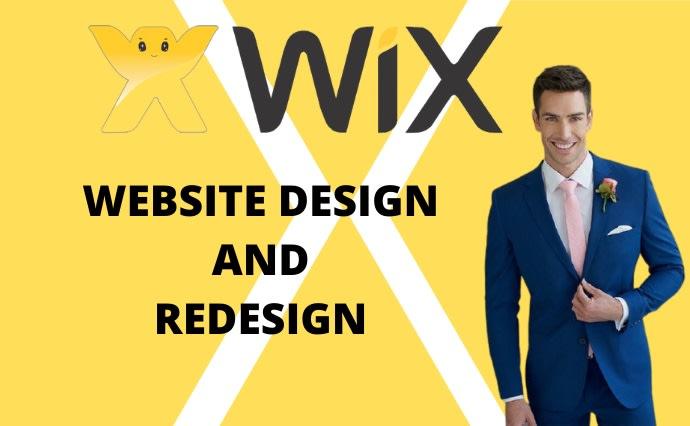 I will do wix website redesign,  wix website design and wix SEO