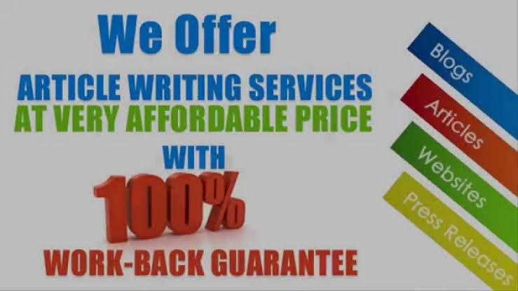 I will write a 500 word blog or article within 24 hours