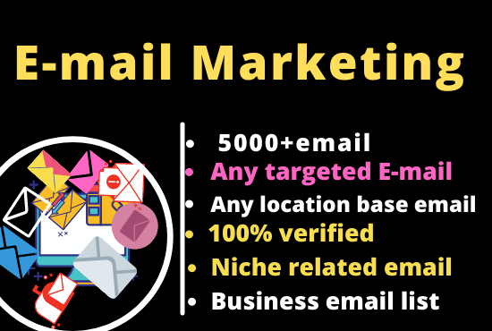 I will do 5000+ b2b lead generation,  collect business leads and email list building