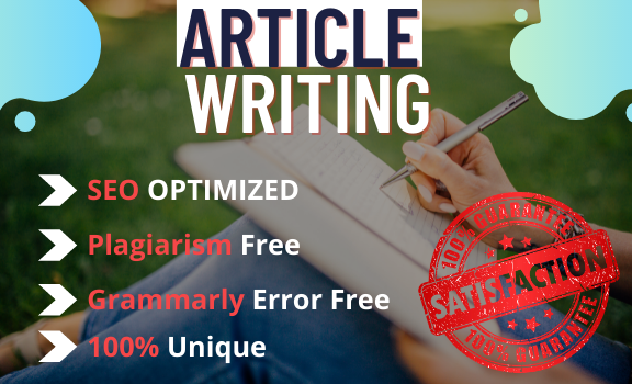 I will write 1500 words high-quality SEO friendly content articles blog posts or website.