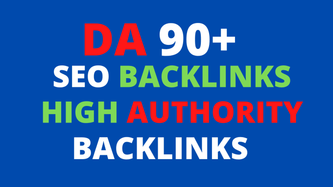 I will 30 high quality authority SEO backlinks,  link building